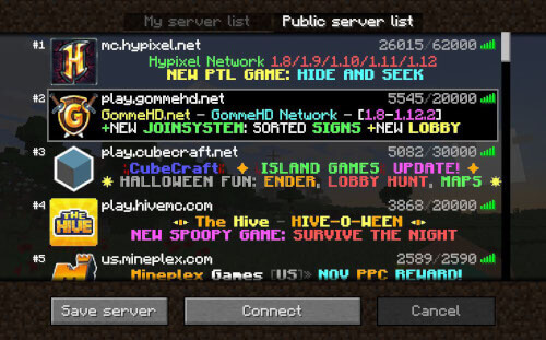 hide and seek minecraft servers 1.8