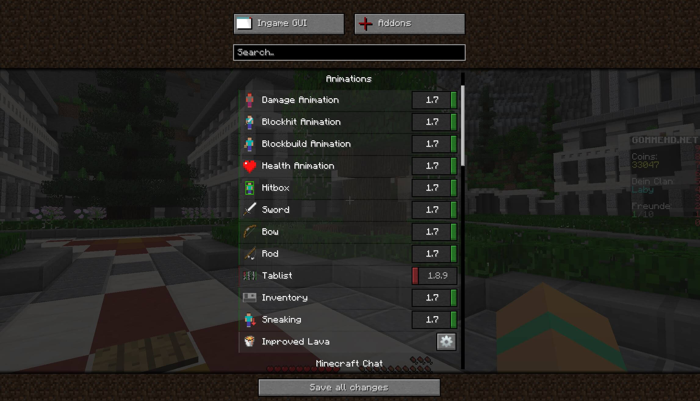 LabyMod For Minecraft - Minecraft server erstellen funktioniert nicht